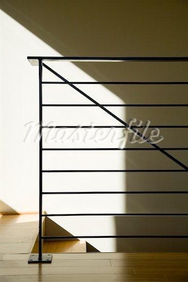 modern metal railing - Google Search