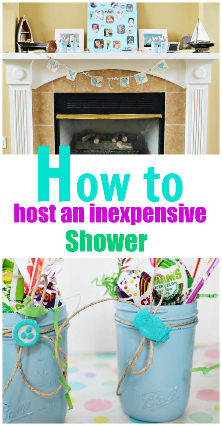 how to host an inexpensive shower baby or bridalyou can never