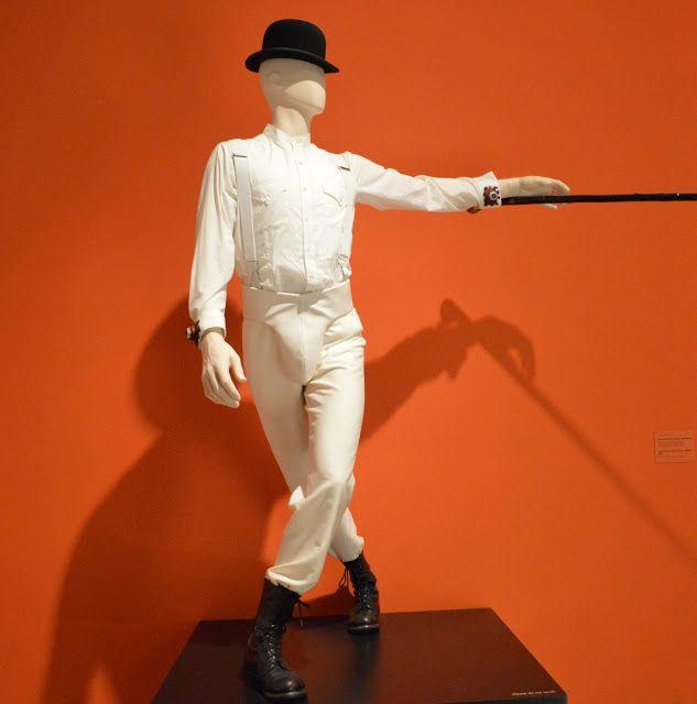 Kubrick Exhibit at LACMA   A Clockwork Orange