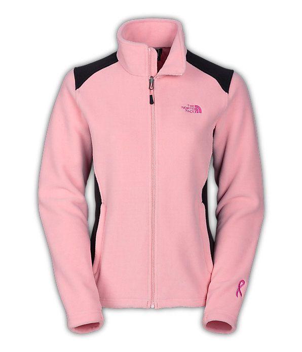 Womens The North Face Pink Ribbon Khumbu 2 Jacket Pink/Black Size Medium
