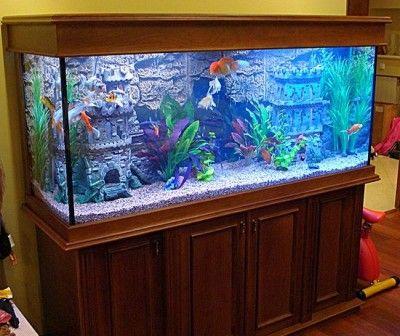 Домашний аквариум в интерьере