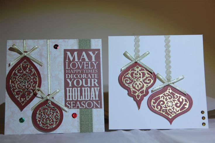 kaisercraft yuletide collection and spellbinders dies