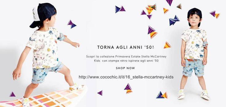 STELLA MC CARTNEY PE2015 SHOP COMODAMENTE ONLINE: http://www.cocochic.it/it/16_stella-mccartney-kids