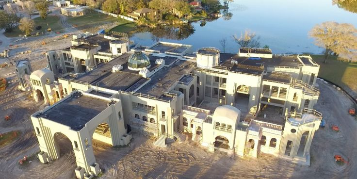 this 85 000 square foot mega mansion is under construction