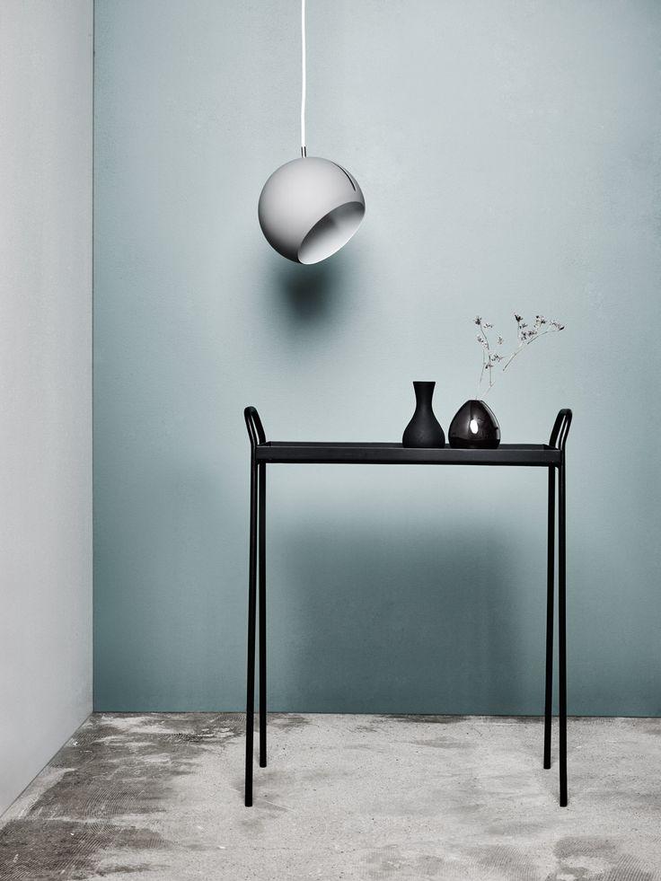 Nyta »Tilt Globe« grey, white cord