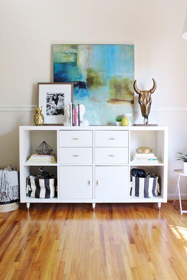 19 magníficas ideas para decorar tu casa utilizando estanterías de una forma…