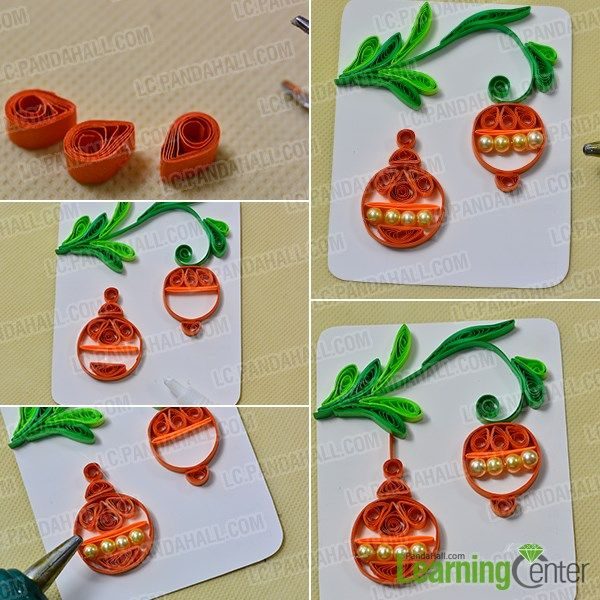 Love quilling cards? If yes, hope you could get some inspirations from today's Pandahall tutorial on how to make easy quilling lantern cards for kids.
