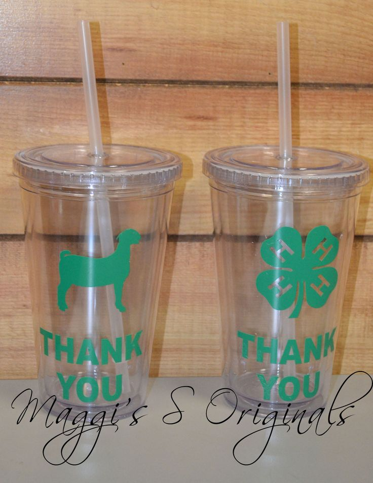 Thank you buyer cup/ Thank you cup/Livestock thank you/