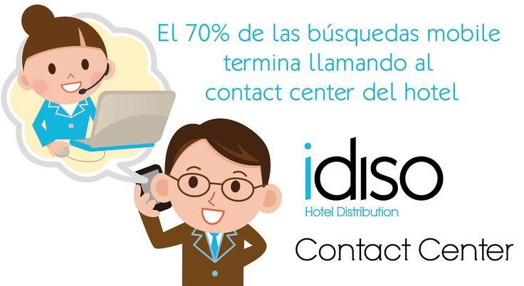 Móvil y contact center hotelero: el binomio perfecto | #hoteles
