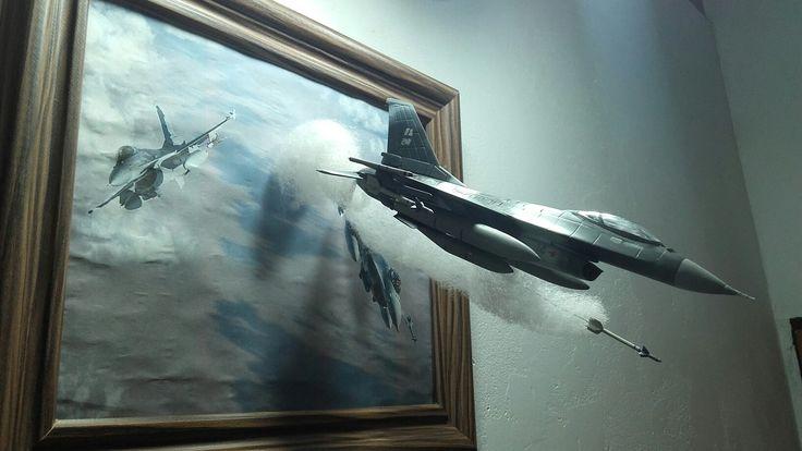 F-16 Aggressor Alaska 1/72 by  Adrian SS