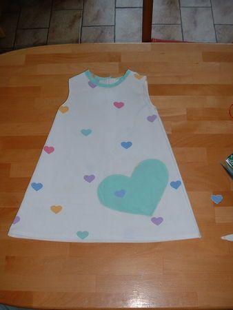 Free trapeze dress pattern size 2 French