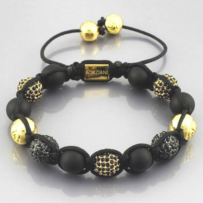 Absolute Bracelet for men - Luxurious Style of pave cz diamonds with color block matte onyx is a combination to elevate your style effortlessly.  Comes packed in a hemp pouch and designer gift box - all ready for gifting!