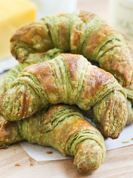 recipe for matcha croissants