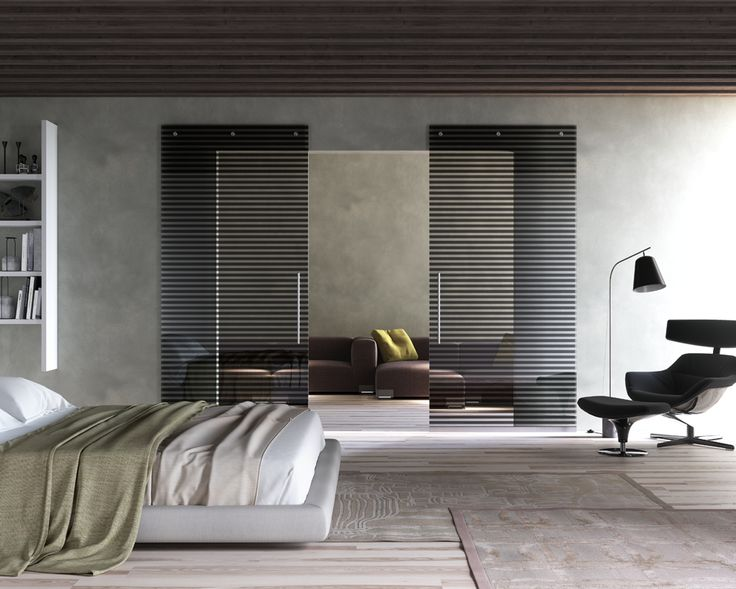 "Sistema scorrevole ""Magic""  Anta doppia scorrevole esterno parete Mod.Freya nero_Collezione INFINITY   ""Magic"" Sliding system  Double sliding door outside wall Mod.Freya black_INFINITY Collection di #MRartdesign"