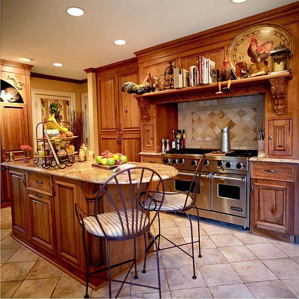 country style kitchen traditionally modern - Country Style Kitchen Designs