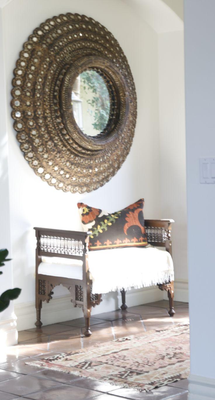 Inspiratieboost een fijne entree met bohemian look roomed house pinterest entree met - Moderne entree decoratie ...