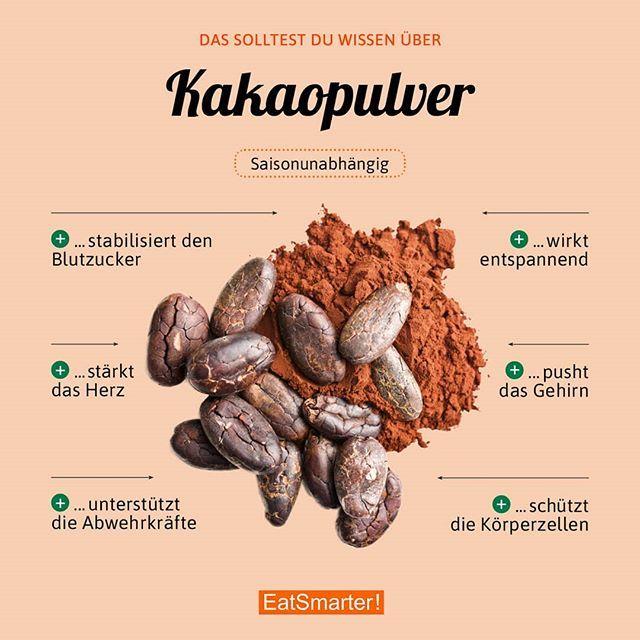 Für was nehmt ihr Kakaopulver am liebsten? Wie gesund das Pulver wirklich ist: … – EAT SMARTER