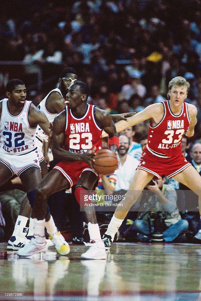 e3cb2e31f761b3 Fotografia de notícias   Michael Jordan of the Eastern Conference ...