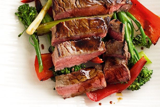 Teriyaki Beef With Vegetables - Tuck into a quick, easy and healthy meal of teriyaki beef with vegetables.