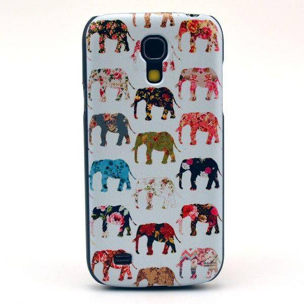 Kleurige olifanten hoesje voor Samsung Galaxy S4 mini