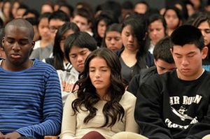 One of San Francisco's toughest schools transformed by the power of meditation