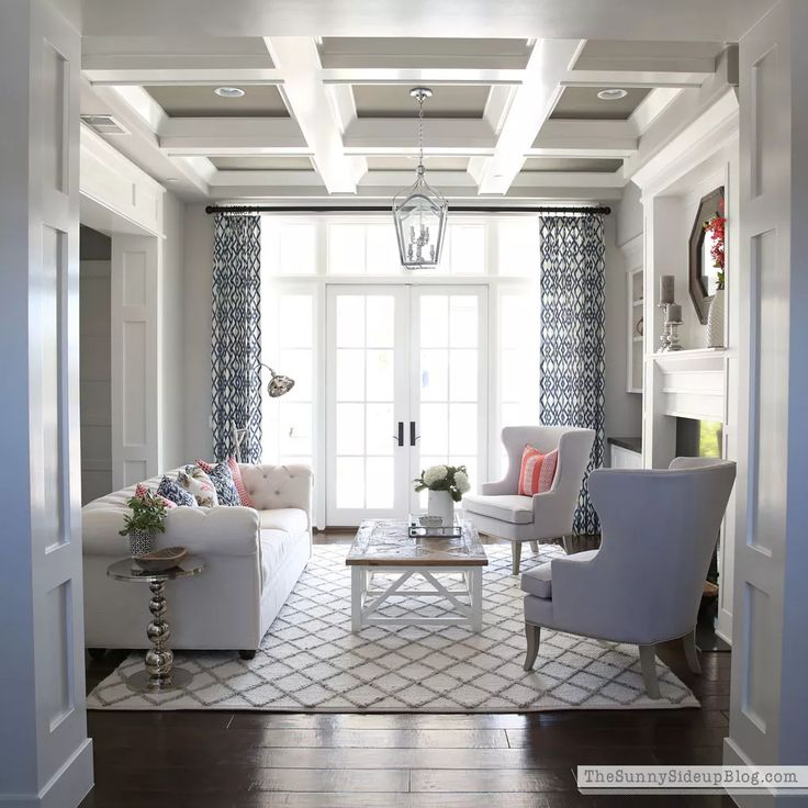 One Room Spring Tour - formal living room! - The Sunny Side Up Blog