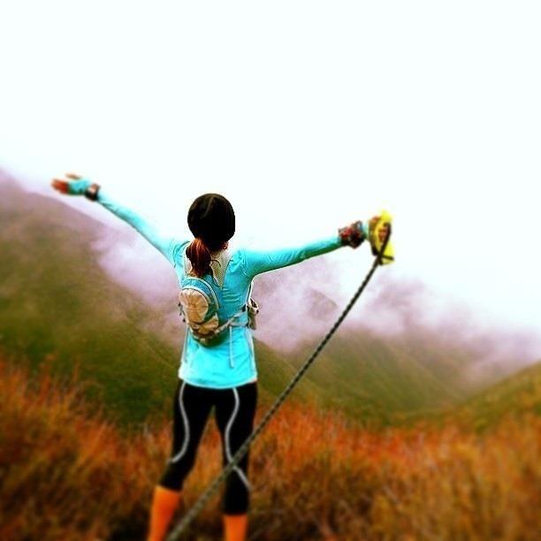 Morning trail run at Mt. Baldy. Photo credit: Lori B #REI1440project