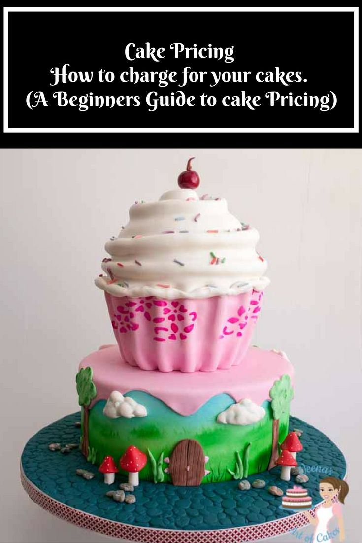 CAKE PRICING – HOW MUCH TO CHARGE FOR YOUR CAKES  Cake pricing or how to price your cakes can be the most challenging and intimidating question to most beginners in the cake decorating world. In this post I have shared how to analyze, the methods I use as well as how to calculate the final price. Cake Pricing - A Beginners Guide A Beginners Guide to Cake Pricing