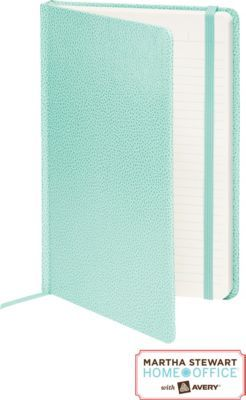 #MakeMoreMakeover Staples®. has the Martha Stewart Home Office™ With Avery™ Premium Shagreen Journal, Blue, 5-1/2'' x 8-1/2'' you need for home office or business. Shop our great selection, read product reviews and receive FREE delivery on all orders over $45.
