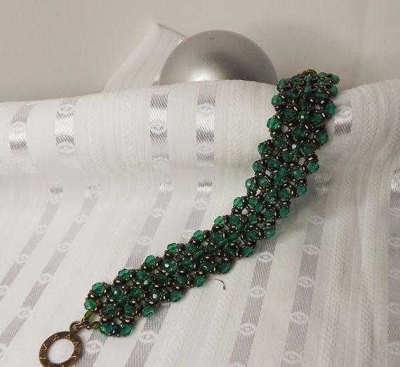 The bracelet's pattern from Kovács Éva. Thank You Éva!