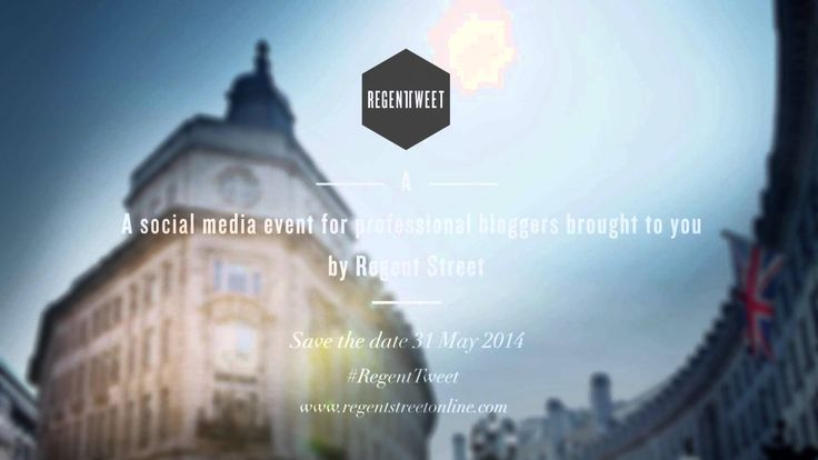 Regent Tweet is an experiential shopping and lifestyle blogging event and this year's event takes place on Saturday 31 May.