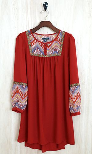 Aztec Girl Tunic