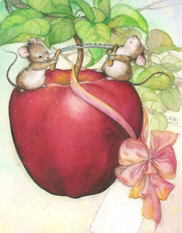 Яблоко открытки, картинками книга картинка