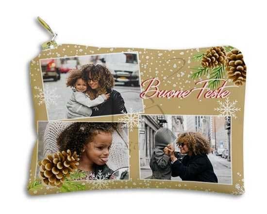 Portachiavi Portamonete Pigne natalizie