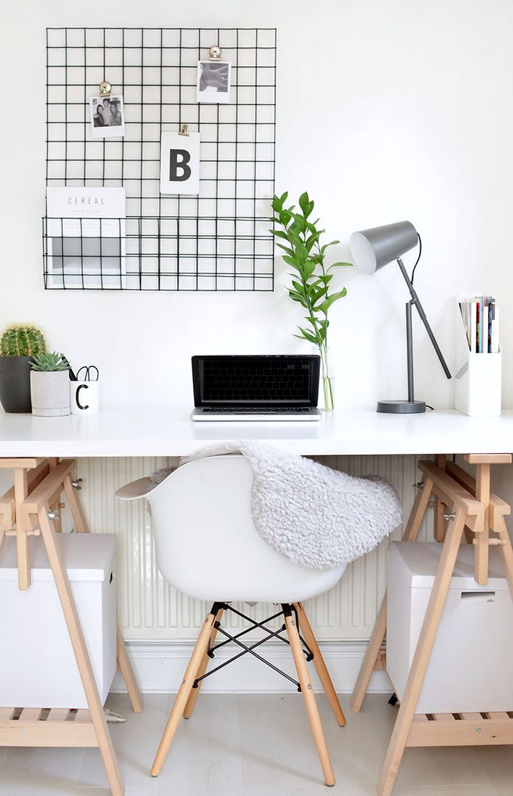 DIY | memo board storage grid @burkatron