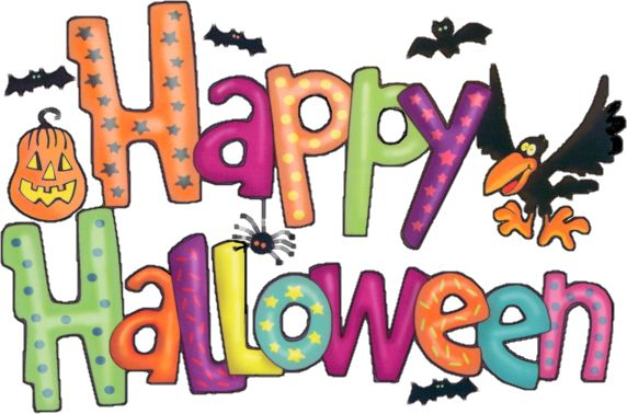 161 best halloween clipart images on pinterest halloween clipart rh pinterest com happy halloween clip art banner happy halloween clipart black and white