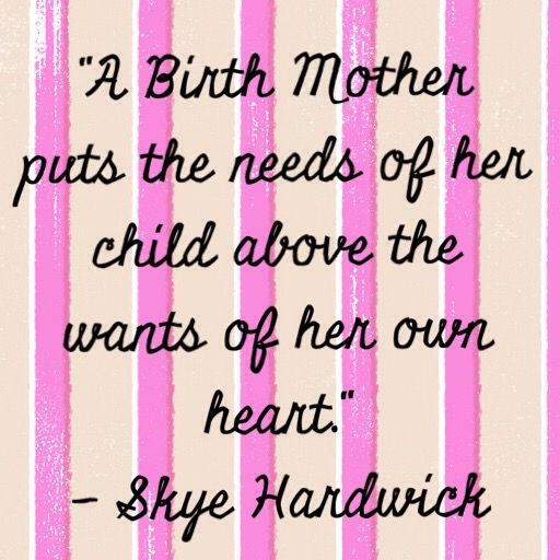 """An adoptee and birthmother shares her story. """"The way I feel with my own Adoption is that my parents are my parents, that doesn't change now that I gave up my own son for adoption."""" http://mommyhoodland.com/2015/04/09/birth-mother/ #birthmother #adoptee"""