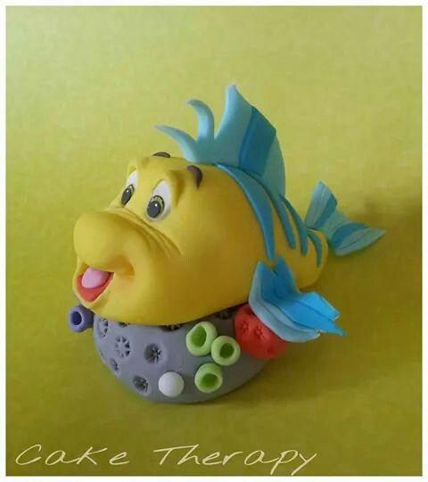 17 best images about ariel little mermaid cakes on for Little mermaid fish