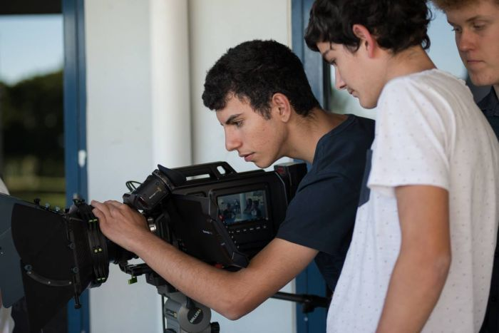 Young Gladstone filmmakers learn their craft