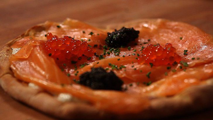 Get the Dish: Wolfgang Puck's Smoked Salmon Pizza