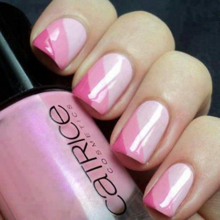 15 Diseños de uñas rositas sólo para chicas chic - 1538 Best UÑITAS Images On Pinterest Make Up, Nail Art And