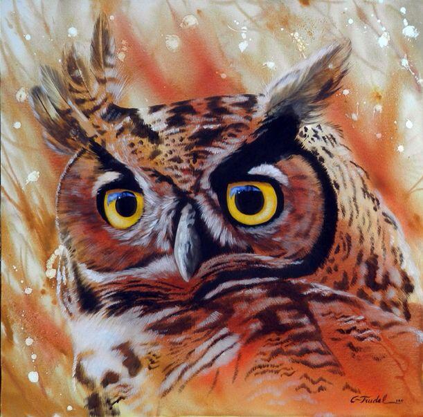 Peinture Gerald Trudel