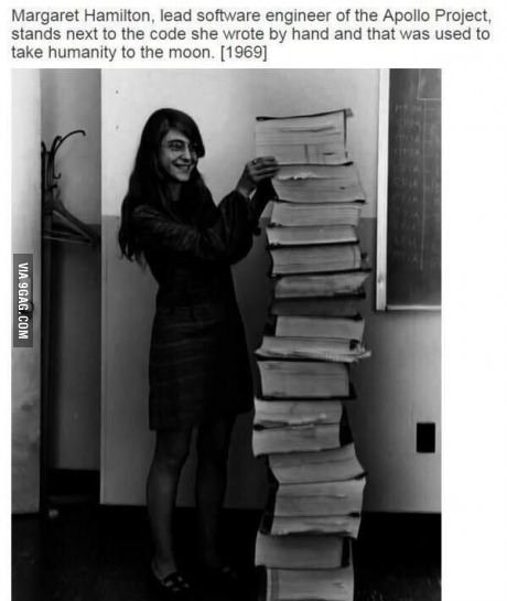 Margaret Hamilton - Director of the Software Engineering Division Apollo Space Program