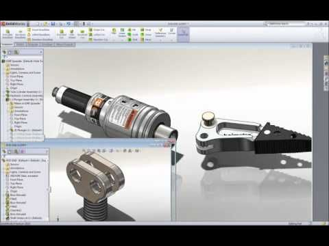 SolidWorks 3D CAD - First Look Video
