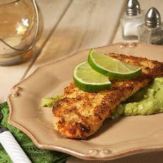 Crispy Baked Salmon w/ Avocado Remoulade | Seafood | Pinterest