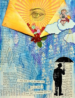 Art journal page for the loss of a child.: Scrapbooking Inspiration, Art Journal Pages, Art Journals, School Art, Heaven Xx, Hsb Project