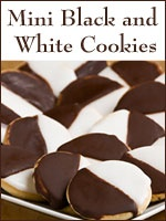 Zabar's Black and White Cookies-I really want to try one of these!