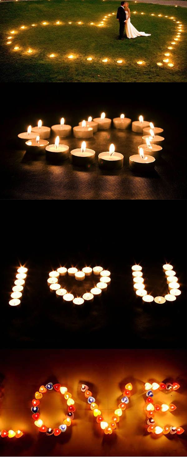 wedding ideas with candles