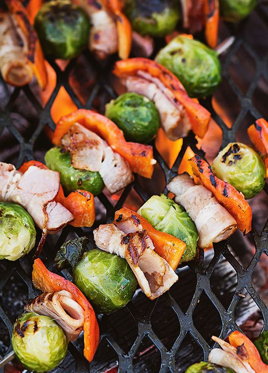 How to make Bacon & Brussels Sprouts Skewers