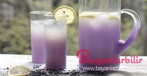 Baş ağrısı ve anksiyete için lavanta limonatası nasıl yapılır